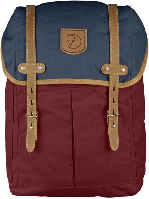 Fjällräven No. 21 - Sac à dos - Medium rouge/bleu